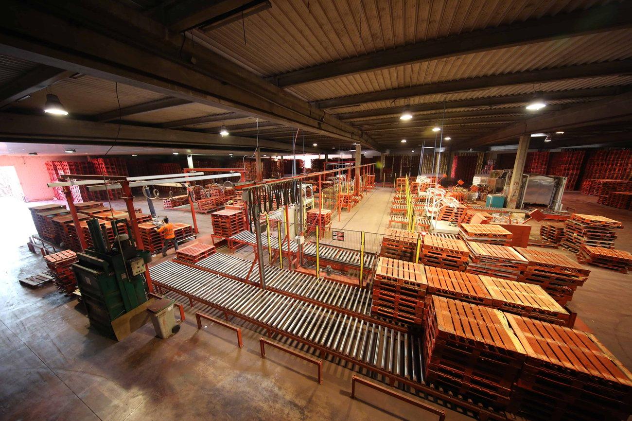 Inovação em pooling de paletes e gestão da cadeia de abastecimento